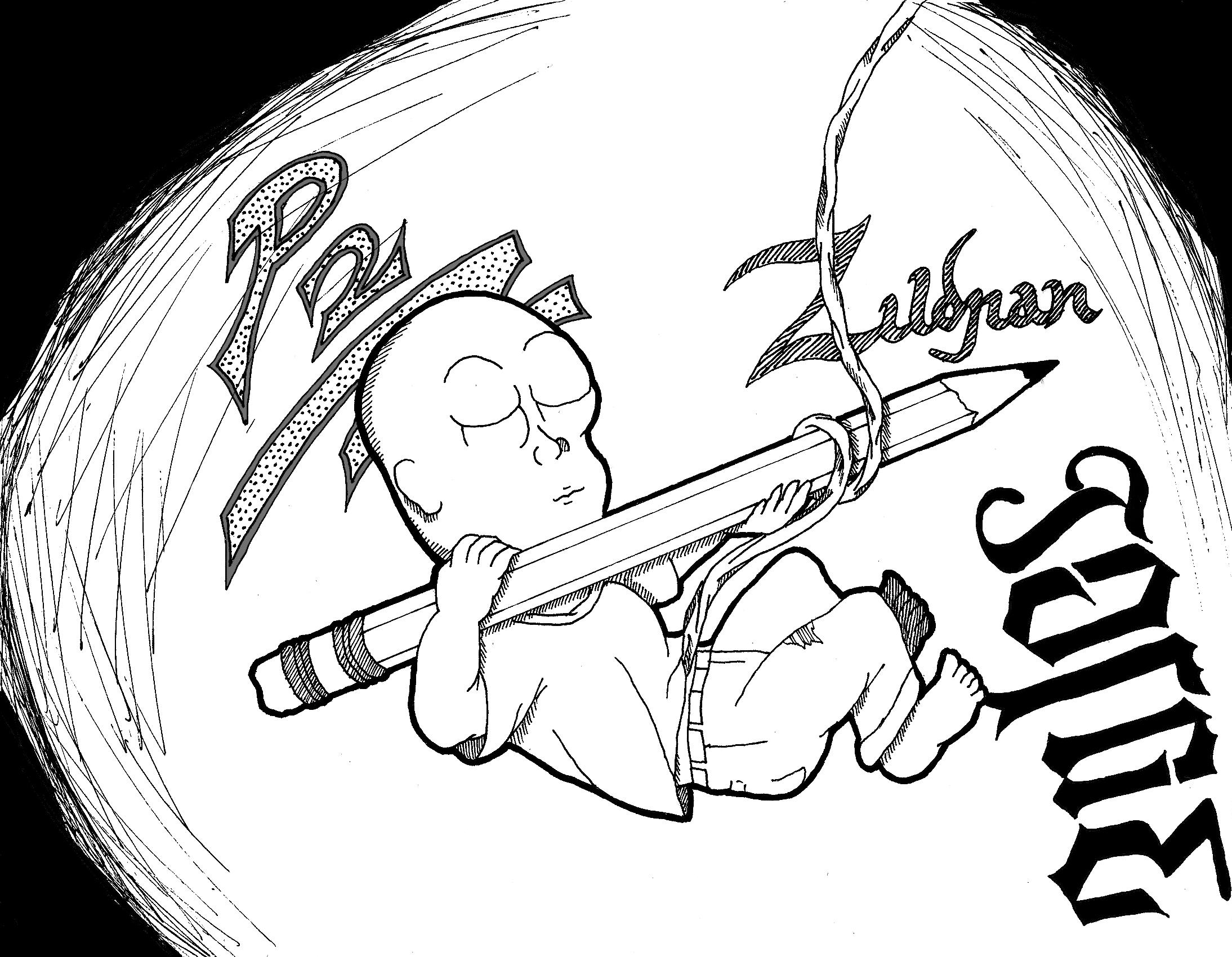 Dibujos del feto - Imagui